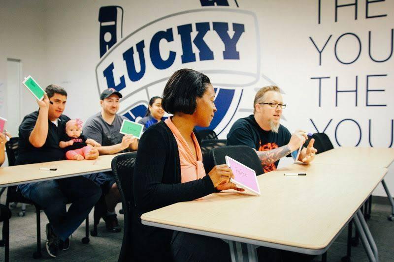Lucky U is GL group's internal training program.