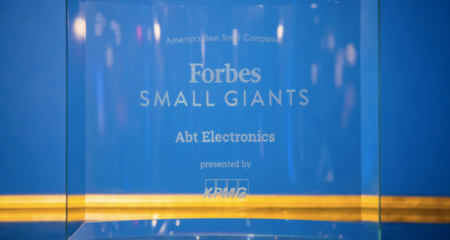 Forbes Small Giants Award