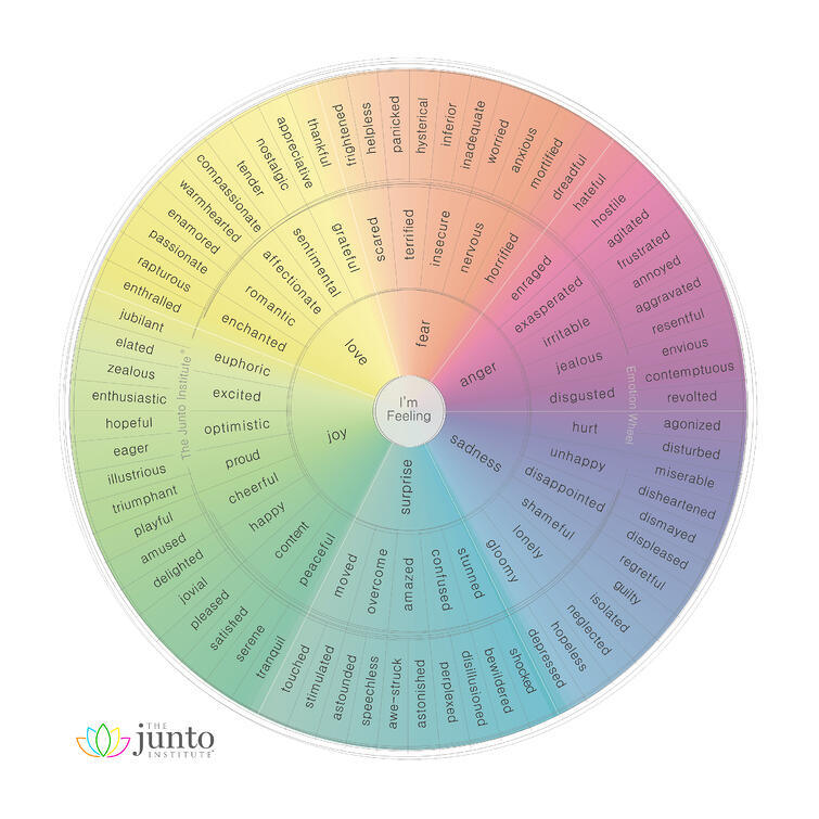 Junto Emotion Wheel
