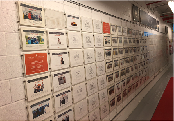 FAB Wall at Comfort Research