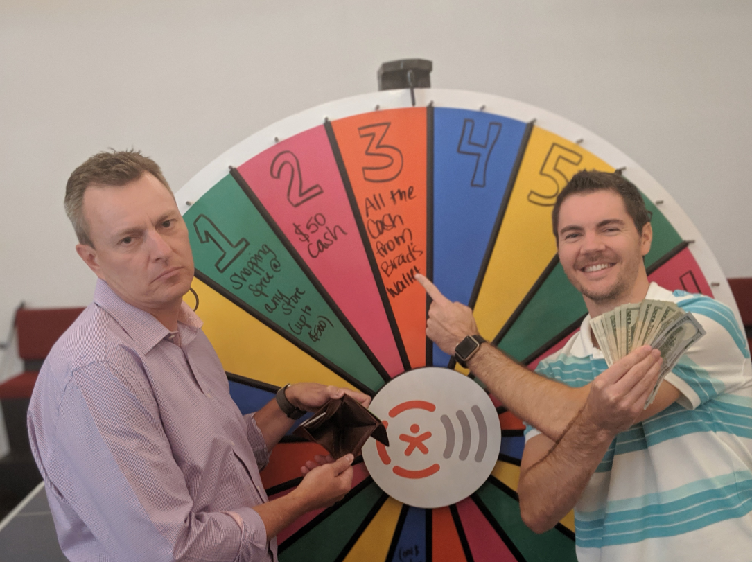 Call-Em-All Prize Wheel